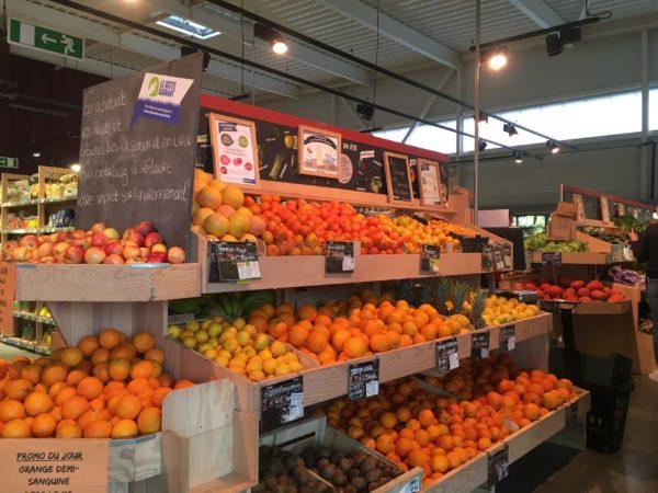 色々な種類のオレンジ