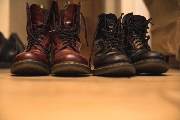 ドクターマーチンのブーツ
