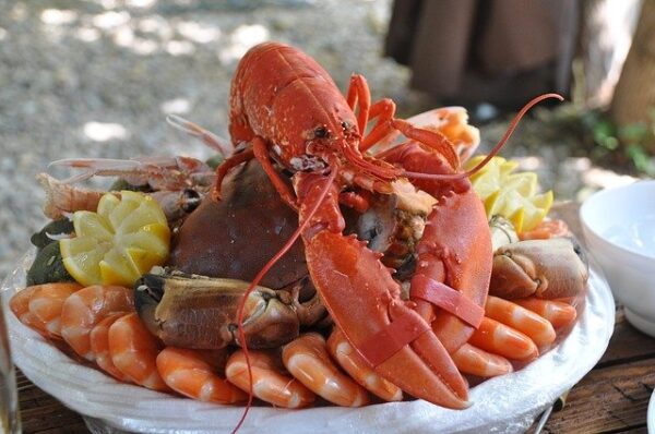 seafood normandy platter