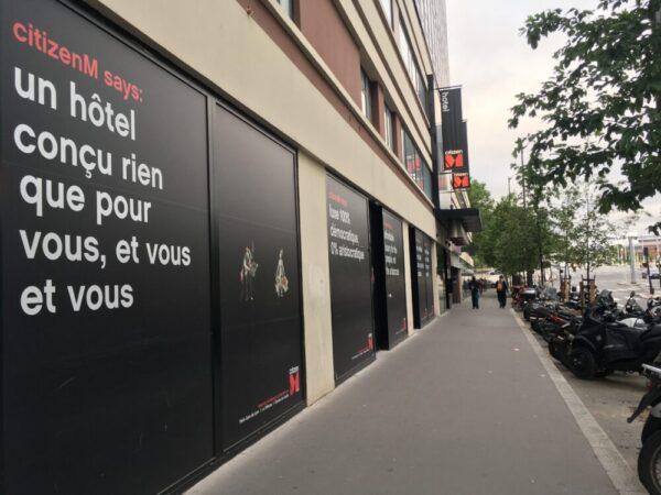 パリリヨン駅近くのホテル