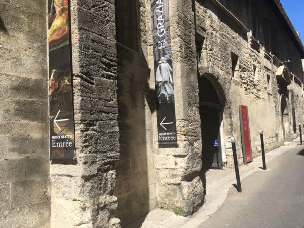 Le musée monument Réattu 入り口